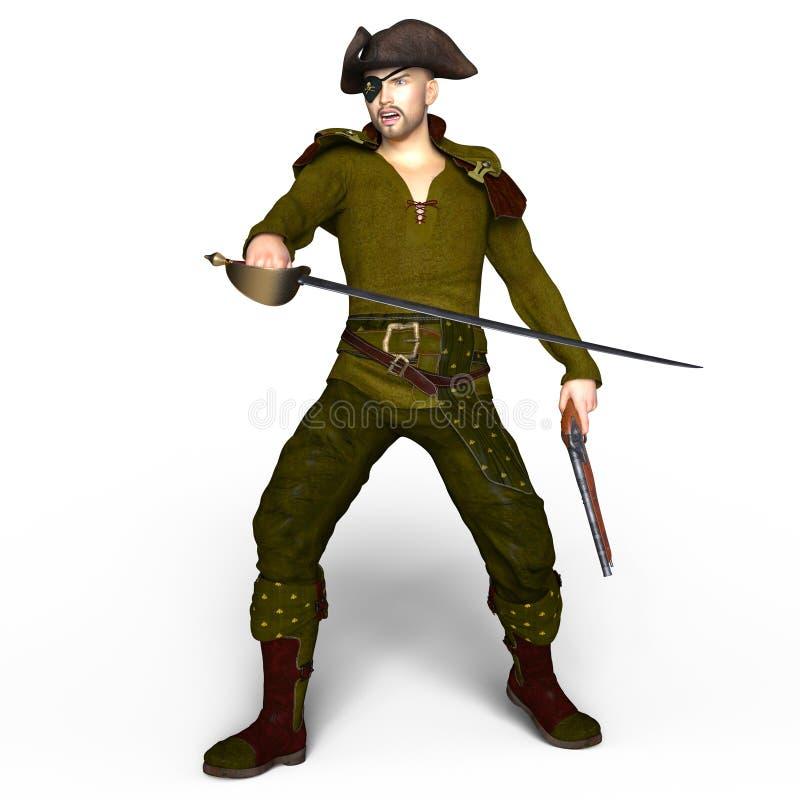 pirati illustrazione di stock