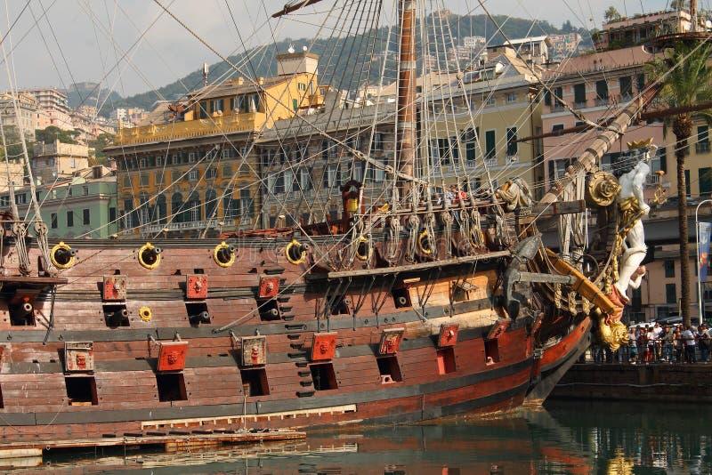 piratkopiera shipen arkivfoto