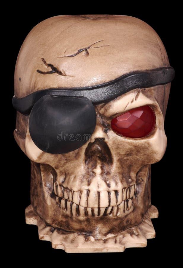 piratkopierar skallen arkivfoto
