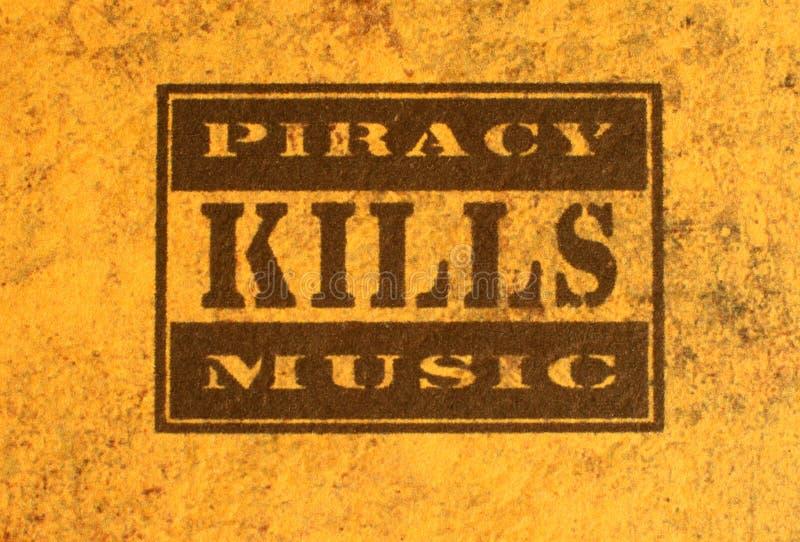 piratkopiering royaltyfri bild