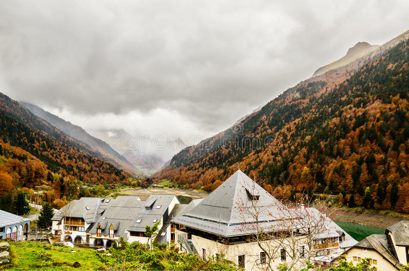 Pirenei Atlantiques immagine stock libera da diritti
