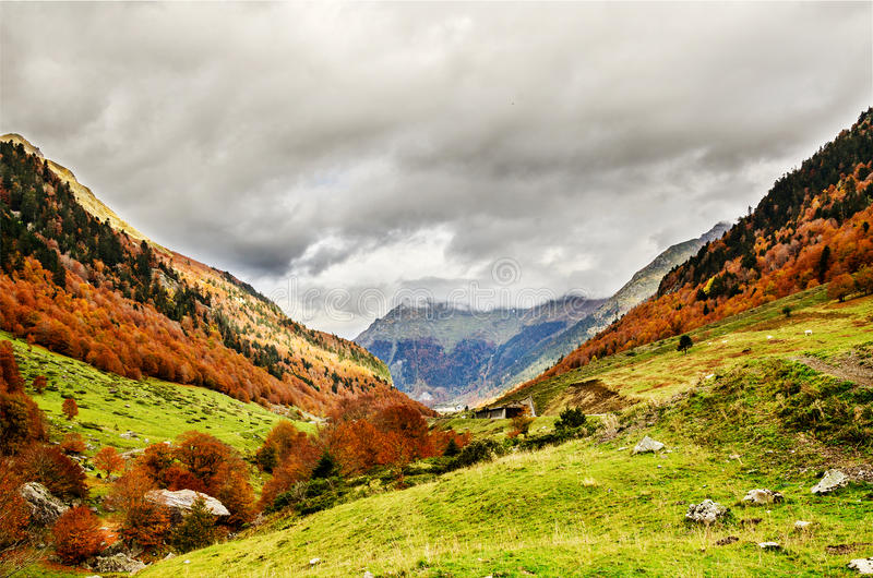Pirenei Atlantiques fotografia stock libera da diritti