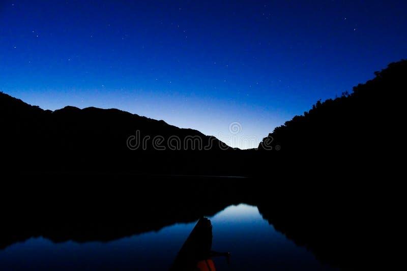 Pirihueico jeziora podróż fotografia royalty free