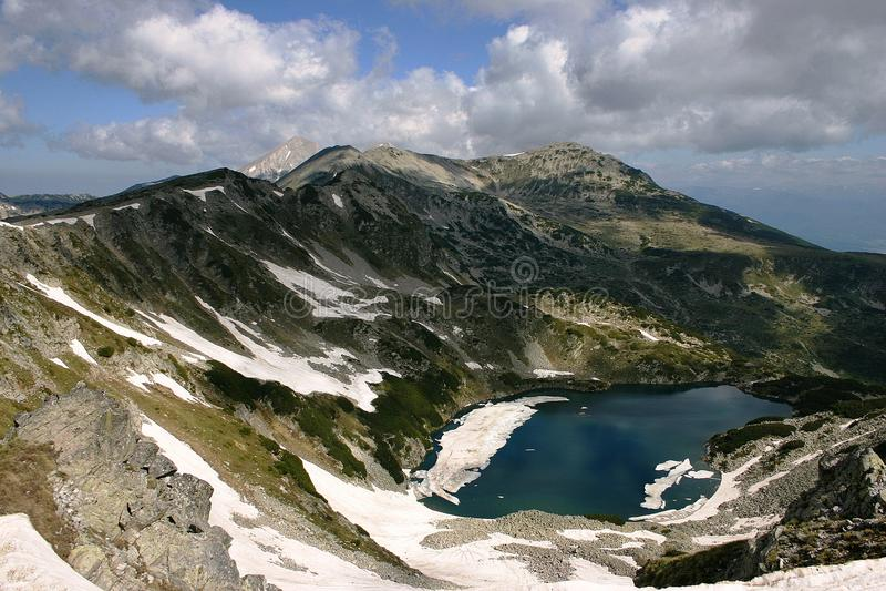 Pirin国家公园 库存照片