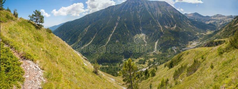 Pirin山全景1 免版税图库摄影