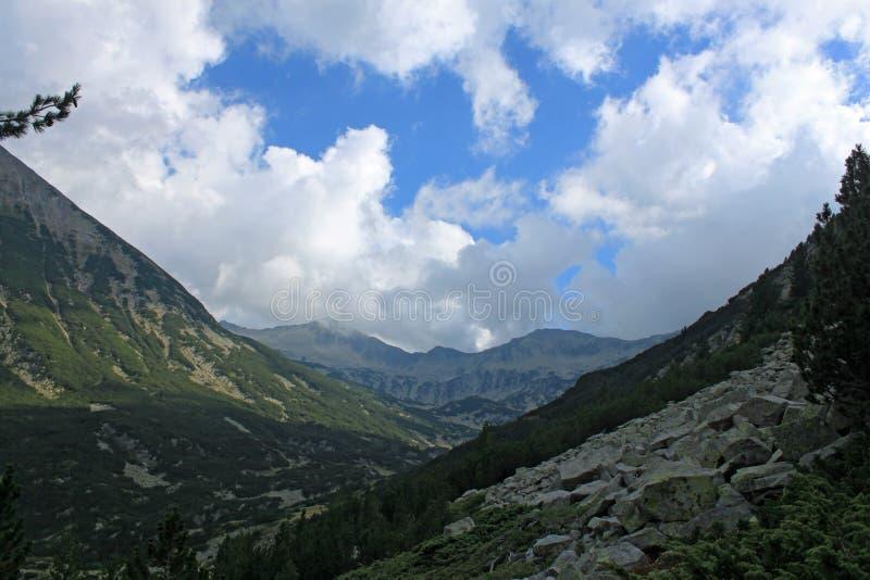 Pirin - τοπίο βουνών στοκ εικόνες