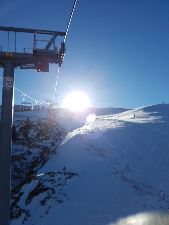 Pirineos-Aufzug lizenzfreies stockbild