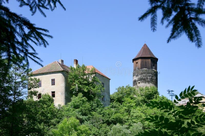 Pirkstejn-Schloss, Rataje nad Sazavou, Tschechische Republik stockfoto