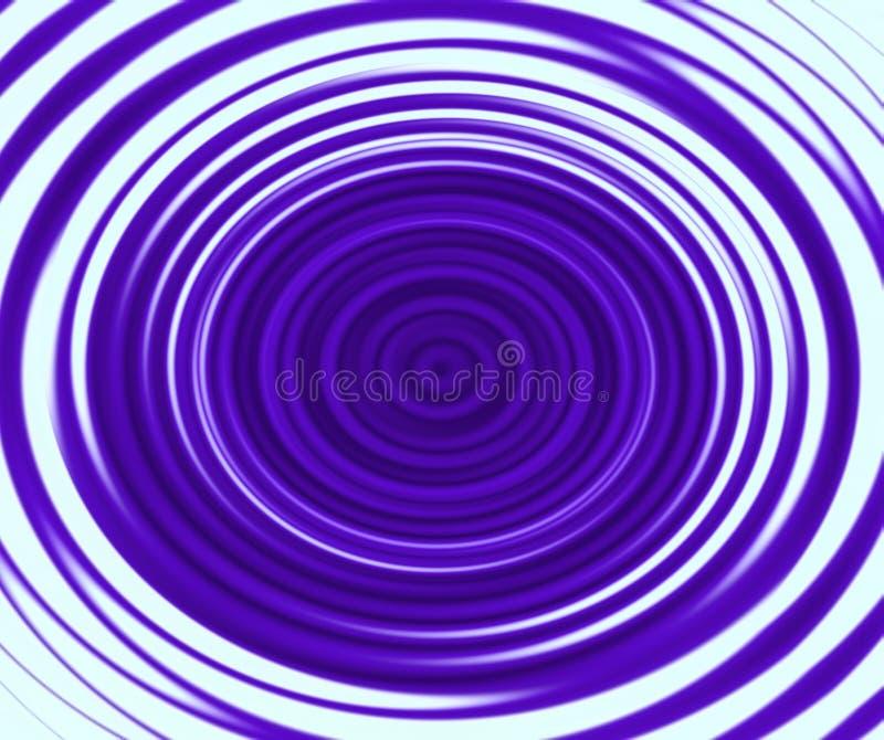 Pirouette violette illustration libre de droits