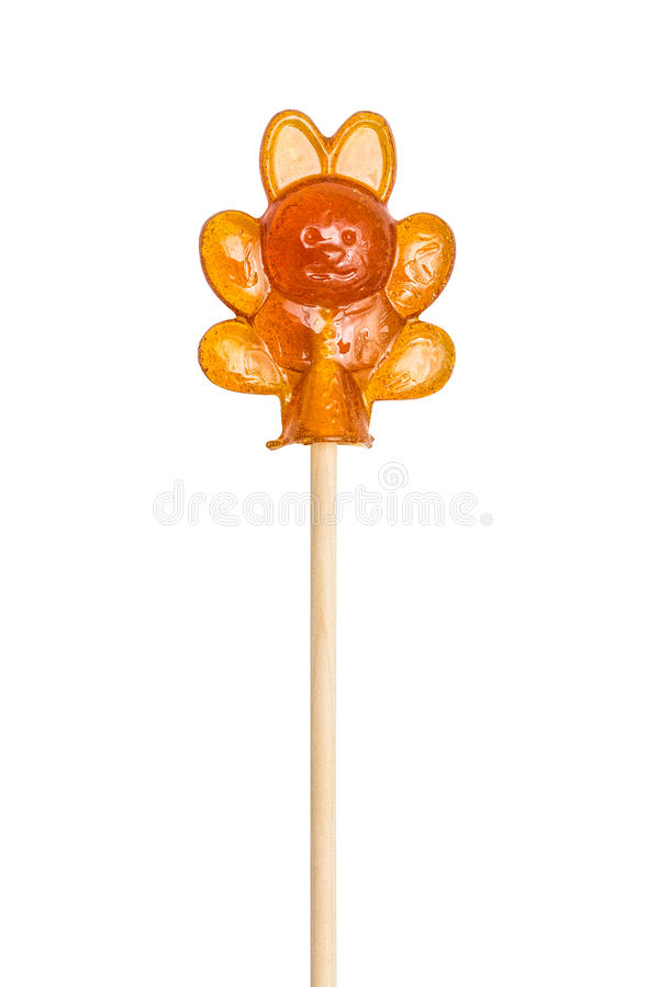Pirulito do açúcar, lebre do lollypop, coelho imagens de stock royalty free