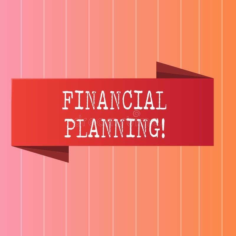 Pisać nutowemu seansowi Pieniężnym planowaniu Biznesowa fotografia pokazuje księgowości Planistyczną strategię Analizuje royalty ilustracja