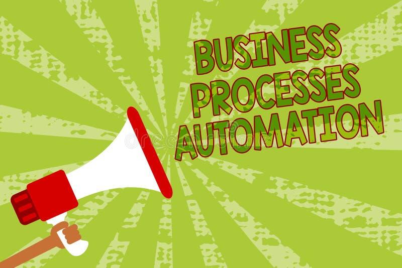 Pisać nutowej pokazuje rozwój biznesu automatyzaci Biznesowy fotografii pokazywać wykonuję dokonywać cyfrowego transformacja mężc ilustracja wektor