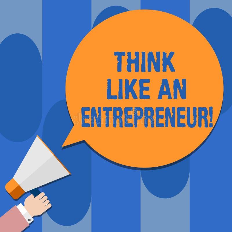 Pisać nutowej seans myśli Jak przedsiębiorca Biznesowy fotografii pokazywać przedsiębiorczość umysł Zaczynać w górę ilustracji