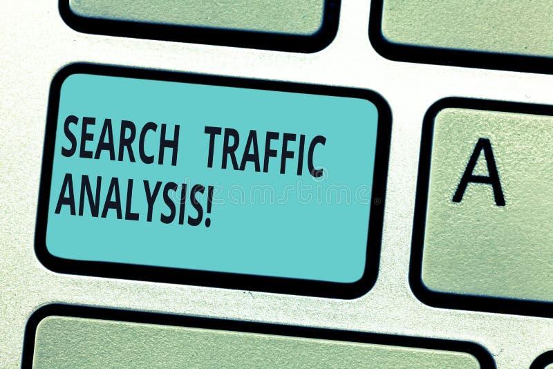 Pisać nutowej seans rewizji ruchu drogowego analizie Biznesowa fotografia pokazuje sieci bandwidth monitorowanie oprogramowanie l obrazy stock