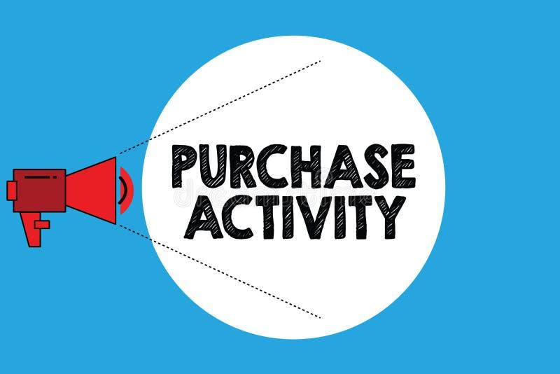 Pisać nutowej seansu zakupu aktywności Biznesowa fotografia pokazuje nabywanie towary dokonywać cele organizacja ilustracji