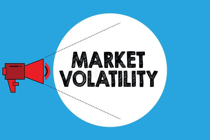 Pisać nutowemu seansowi Targowej lotności Biznesowa fotografia pokazuje Zasadnicze ochron ceny waha się stabilność status ilustracja wektor