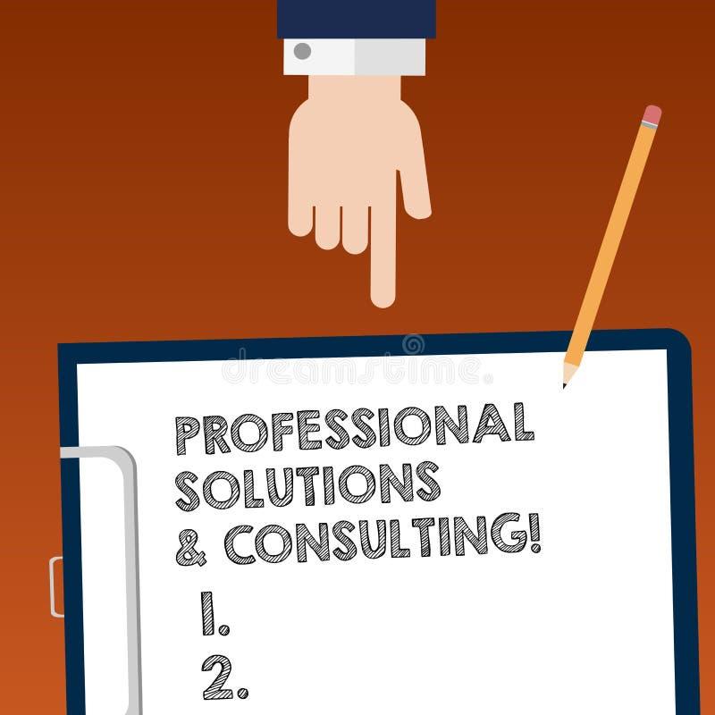 Pisać nutowych pokazuje Fachowych rozwiązaniach I Konsultować Biznesowa fotografia pokazuje strategii biznesowych usług Hu dobrą  ilustracji