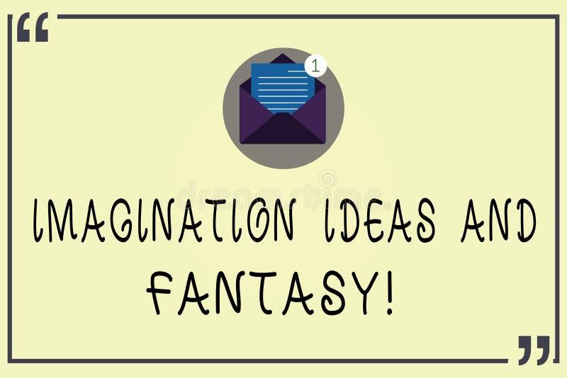 Pisać nutowych pokazuje wyobraźnia pomysłach, fantazji I Biznesowa fotografia pokazuje twórczości inspiracyjnego kreatywnie główk ilustracji