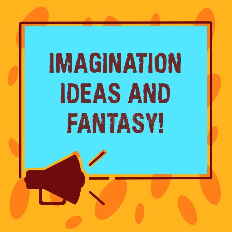 Pisać nutowych pokazuje wyobraźnia pomysłach, fantazji I Biznesowa fotografia pokazuje twórczości inspiracyjnego kreatywnie główk royalty ilustracja