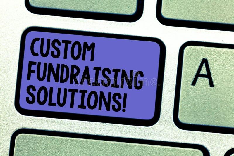 Pisać nutowych pokazuje zwyczajów Gromadzi fundusze rozwiązaniach Biznesowa fotografia pokazuje oprogramowanie pomagać podnosić p obrazy royalty free