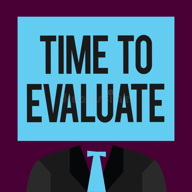 Pisać nutowym pokazuje czasie Oceniać Biznesowa fotografia pokazuje momentu tempo używać przed produktami lub usługa Dajemy royalty ilustracja
