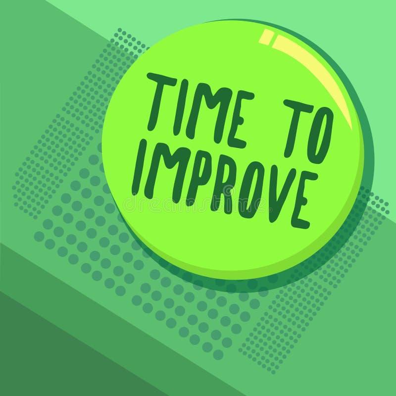 Pisać nutowym pokazuje czasie Ulepszać Biznesowa fotografia pokazuje mówjący someone ono rozwijać nauka ciężcy kursy ilustracja wektor