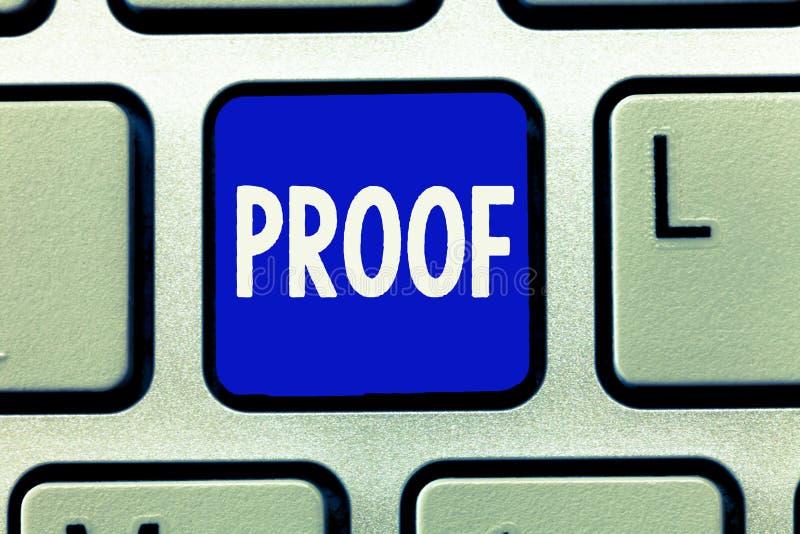 Pisać nutowym pokazuje dowodzie Biznesowa fotografia pokazuje dowód lub argument ustanawia fact lub prawdę oświadczenie zdjęcia royalty free