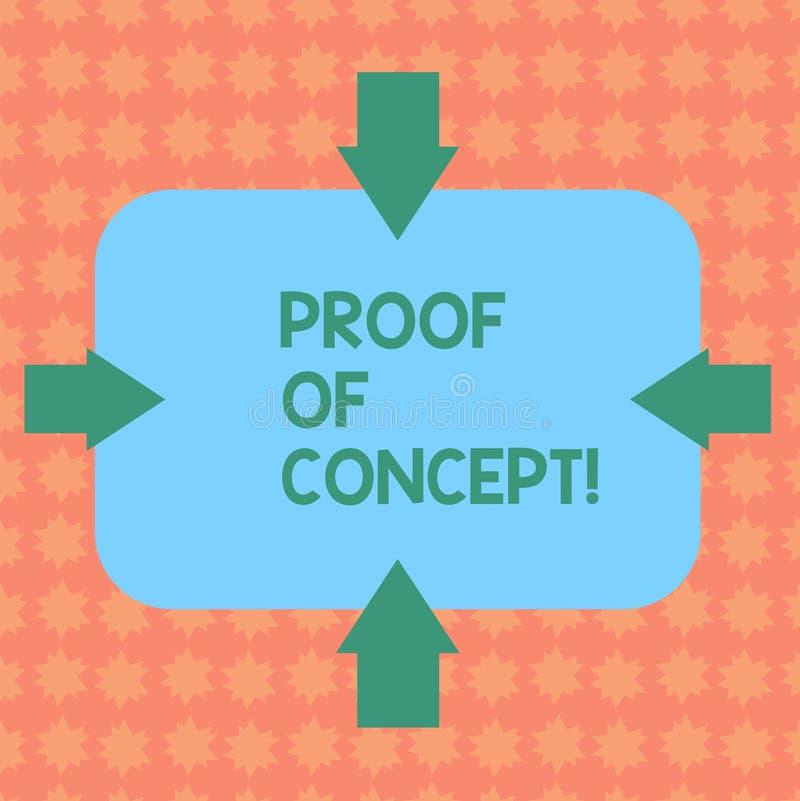Pisać nutowym pokazuje dowodzie pojęcie Biznesowa fotografia pokazuje dowód typowo czerpie od eksperymentu lub projekta ilustracja wektor