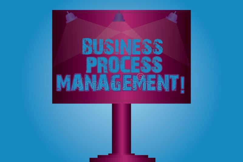 Pisać nutowym pokazuje rozwój biznesu zarządzaniu Biznesowa fotografia pokazuje dyscyplinę ulepszać rozwój biznesu ilustracji