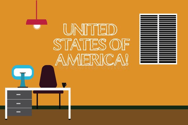 Pisać nutowym pokazuje Stany Zjednoczone Ameryka Biznesowa fotografia pokazuje kraju w północny Kapitałowy washington dc ilustracji