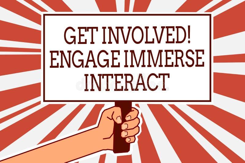 Pisać nutowym seansie Dostaje Zaangażowany Angażuje Immerse antrakt Biznesowy fotografii pokazywać Łączy Łączy Uczestniczy w proj ilustracji