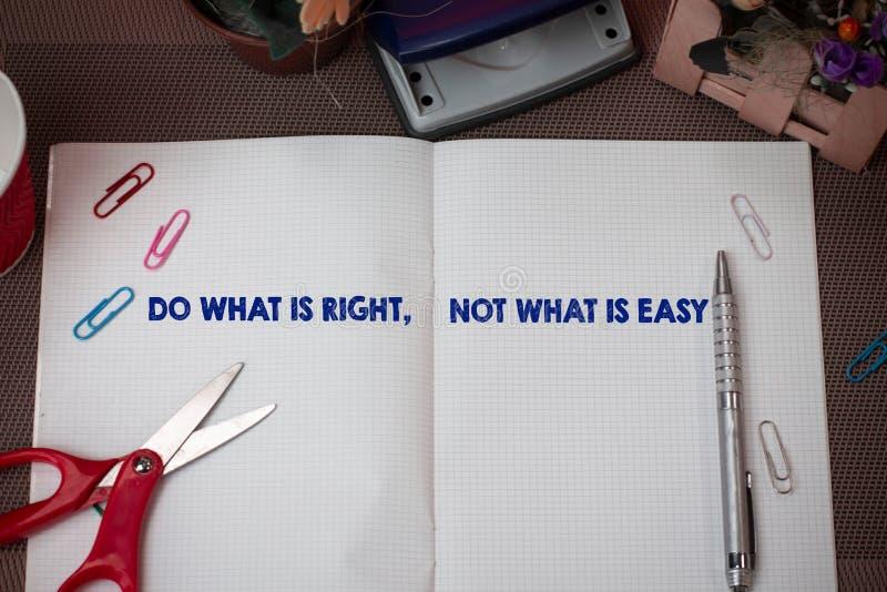 Pisać nutowym seansie Robi Czemu Jest prawicą Nie Co Jest Łatwy Biznesowa fotografia pokazuje determinować stać w górę dla czego  zdjęcia royalty free
