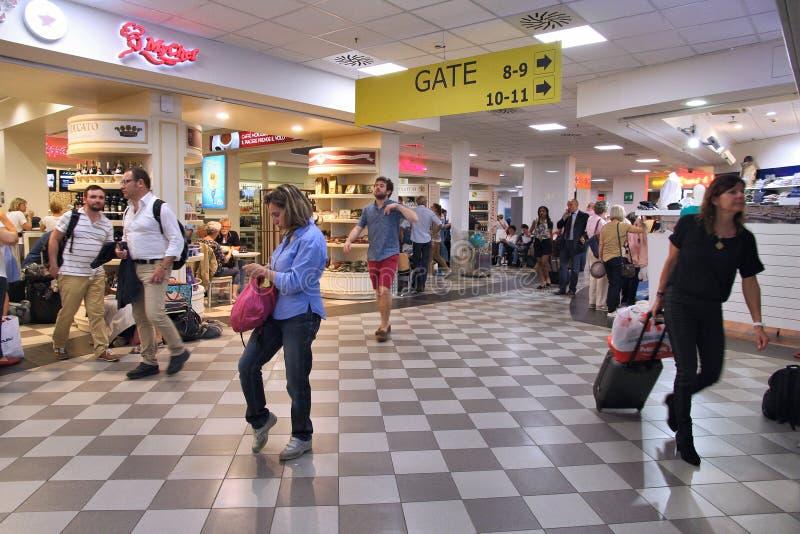 Pisa Airport stock image