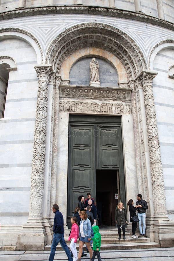 Pisa Baptistry royalty free stock photos