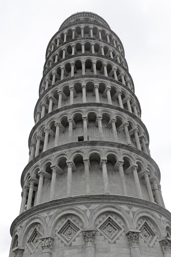 Pisa, the bending tower royalty free stock photos