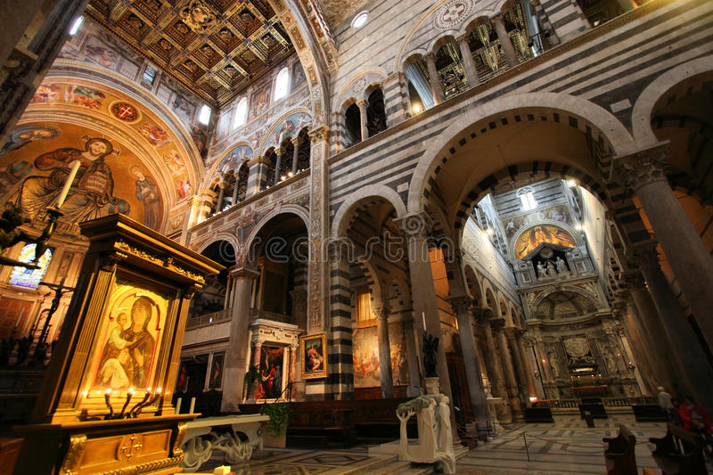 Pisa cathedral royalty free stock photo