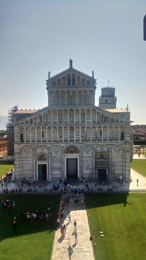 Pisa Cathedral Square of Miracles stock images
