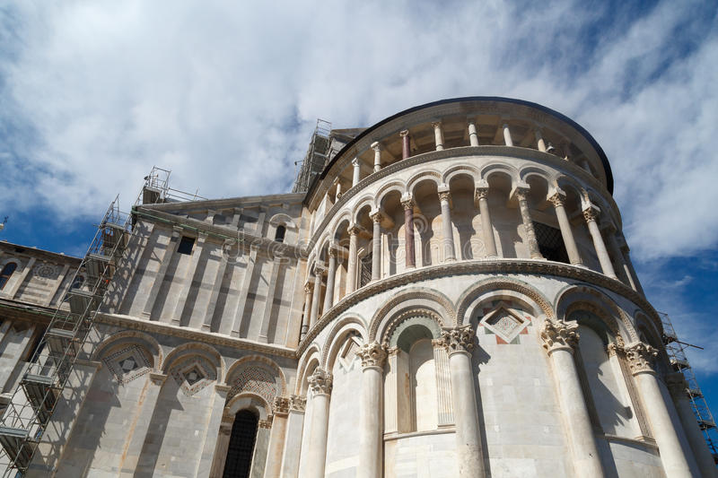 Pisa Cathedral View stock image