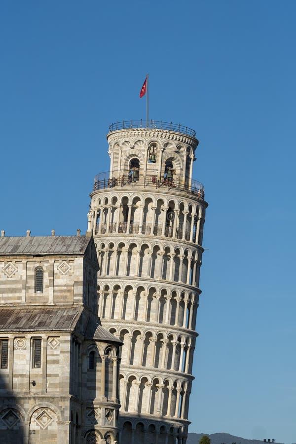 Pisa, dei Miracoli da praça, quadrado famoso da catedral imagens de stock