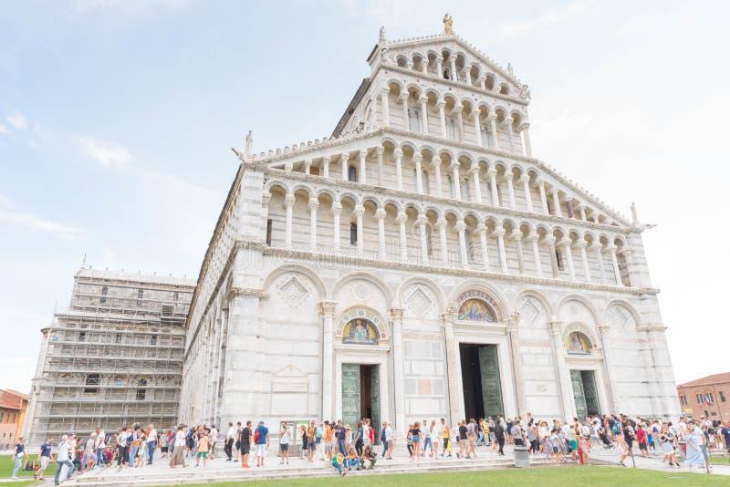 Pisa domkyrka, Italien arkivfoton