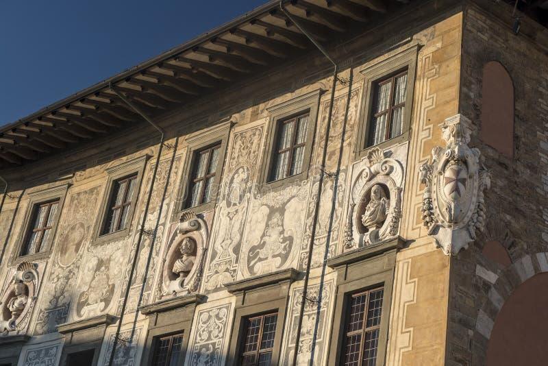 Pisa, historic buildings royalty free stock photos