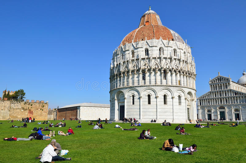 Pisa, Itália fotografia de stock