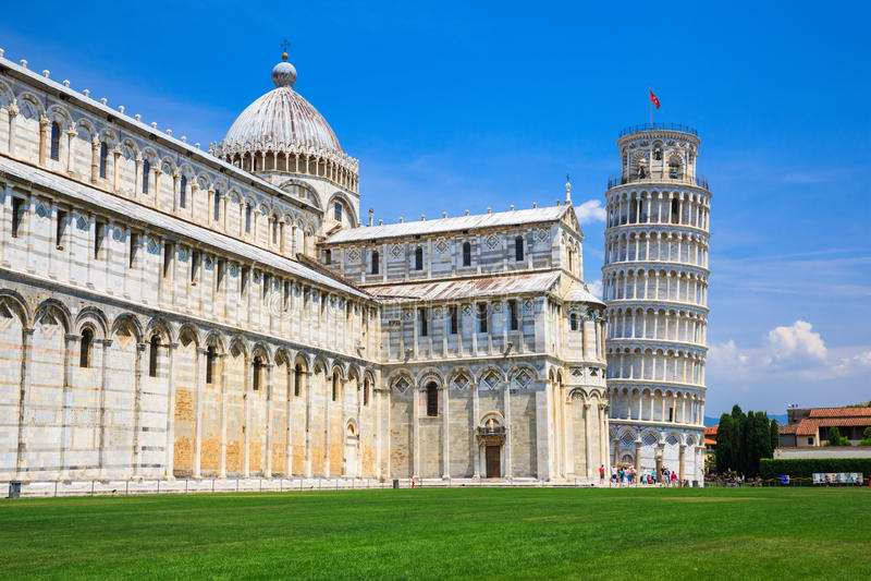 Pisa, Italien stockbilder