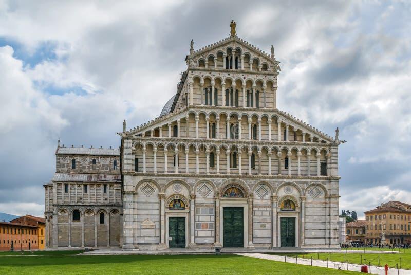 Pisa-Kathedrale, Italien lizenzfreie stockfotos