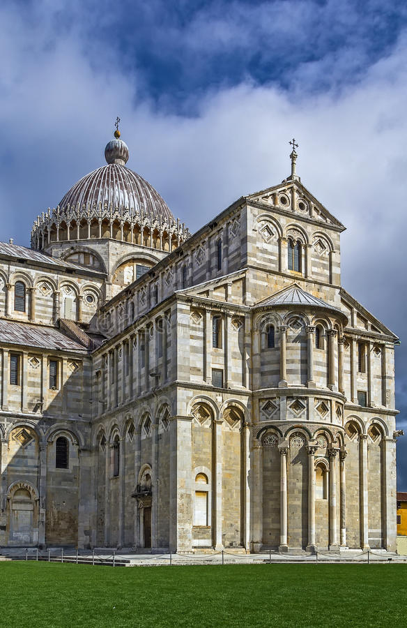 Pisa-Kathedrale, Italien lizenzfreie stockbilder