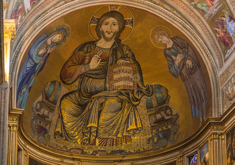 Pisa-Kathedrale, Italien stockbilder