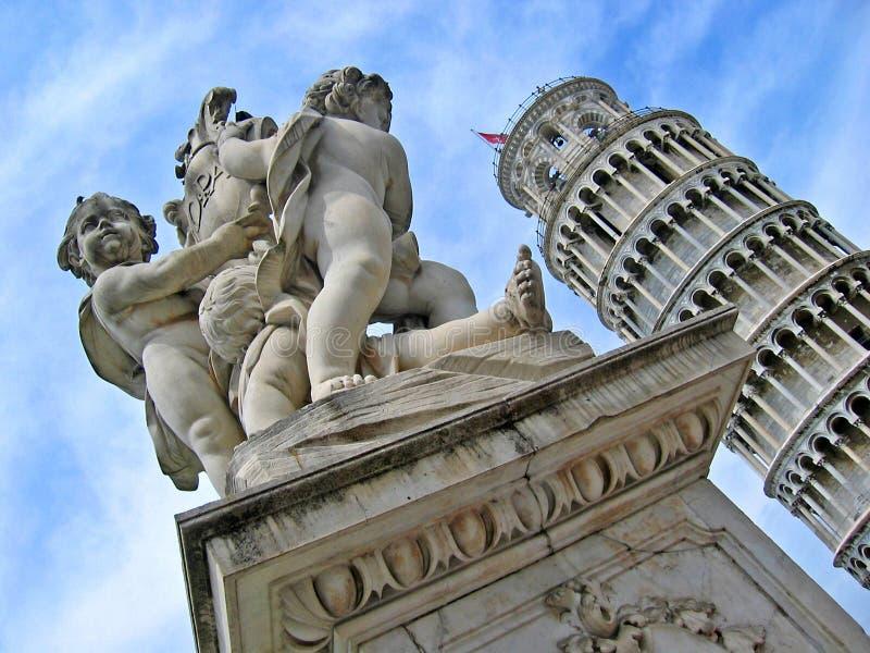 Pisa-Kontrollturm stockfotografie