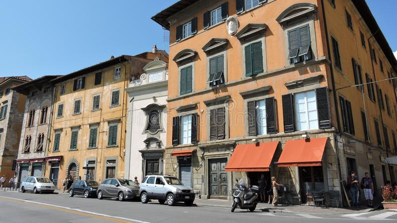 Pisa, krajobraz zdjęcia royalty free