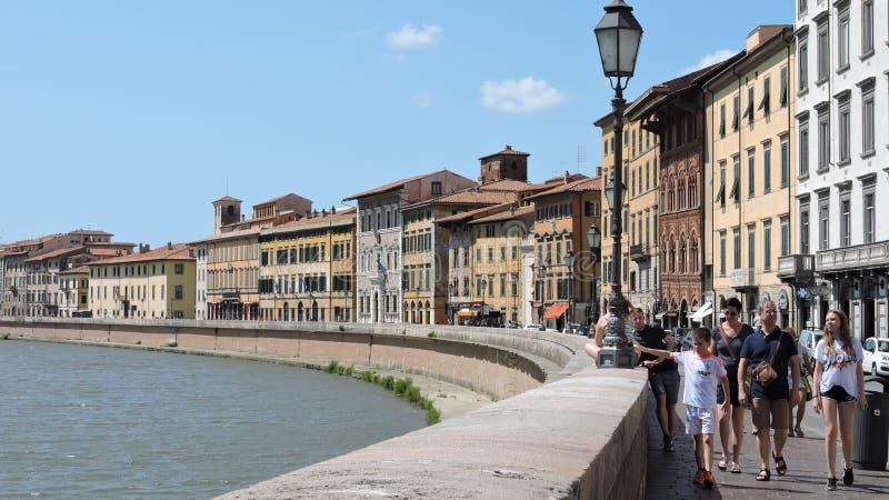 Pisa, krajobraz obraz royalty free