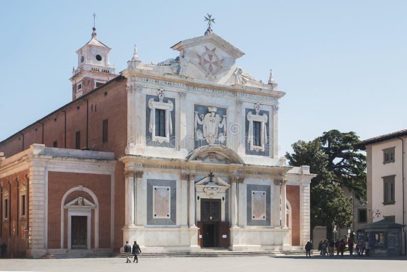 Pisa: kyrka av den Santo Stefano deien Cavalieri fotografering för bildbyråer
